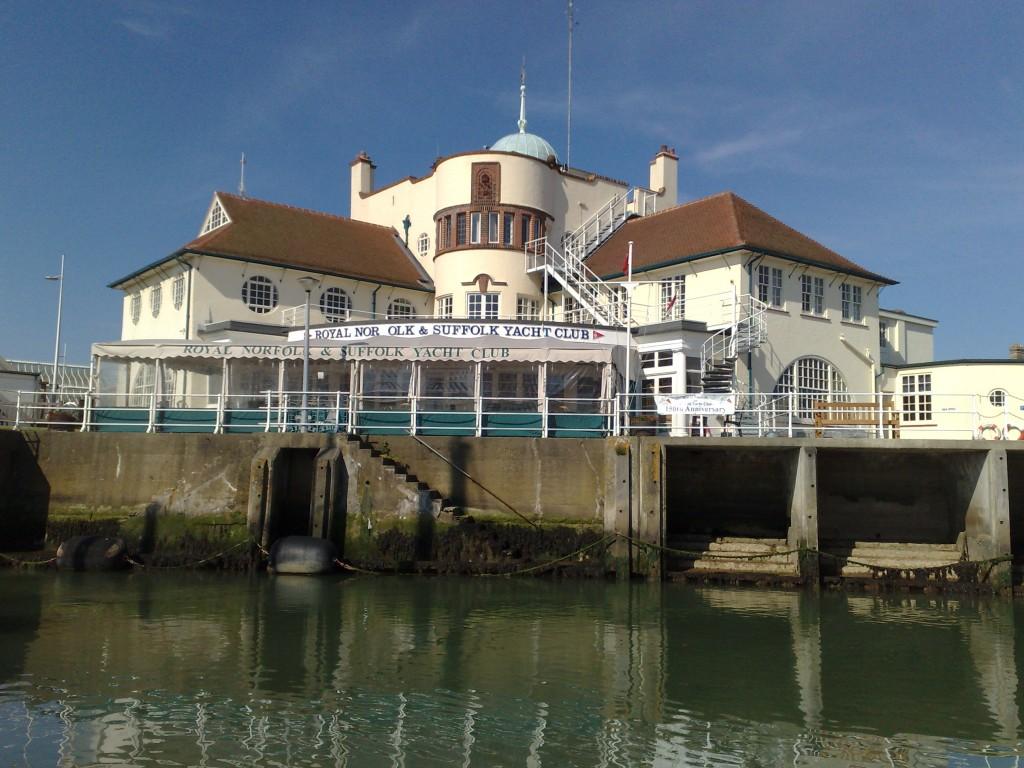 Clubhuis RNSYC in Lowestoft