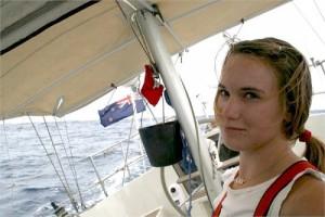 Laura Dekker is veilig in Kaapstad aangekomen