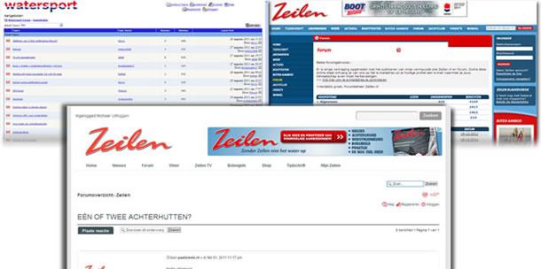 Zeilen.nl vernieuwd, forum bijna klaar