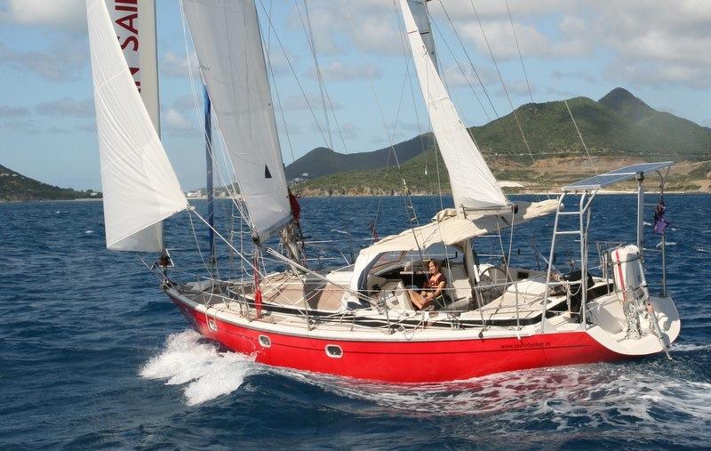 Laura Dekker arriveert op St. Maarten