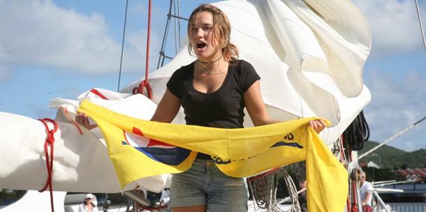 Exclusieve foto's: Laura Dekker (16) is rond