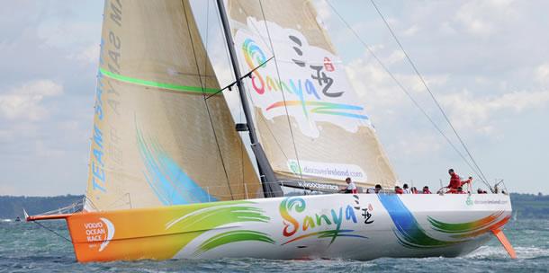Chinees team Sanya verder in Volvo Ocean Race