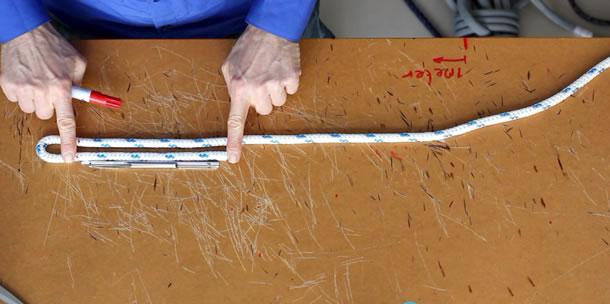 Video: Gevlochten lijnen splitsen
