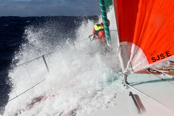 Volvo Ocean Race: stilte op het slagveld
