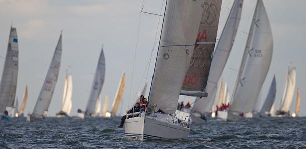 Extra spanning in finale 24 Uurs Zeilrace
