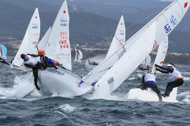 Westerhof en Berkhout als derde naar medal race