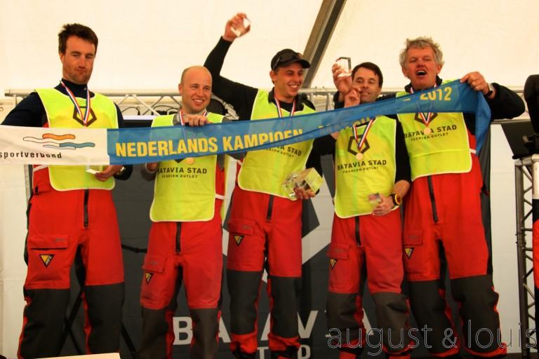 Team Heiner wint NK Match Racing 2012