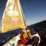 Man overboord Pacer 27 Sport
