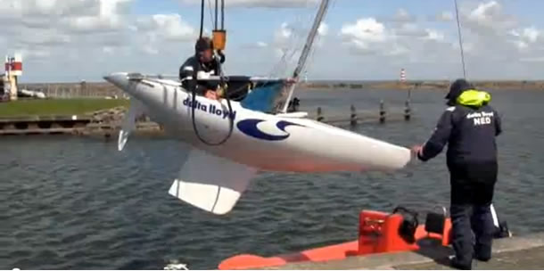 Video: Training Nederlands Paralympisch 2-4 sailing team