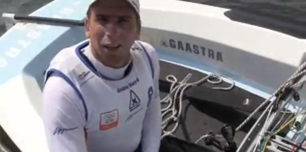 Video: Pieter-Jan Postma test nieuwe olympische boot