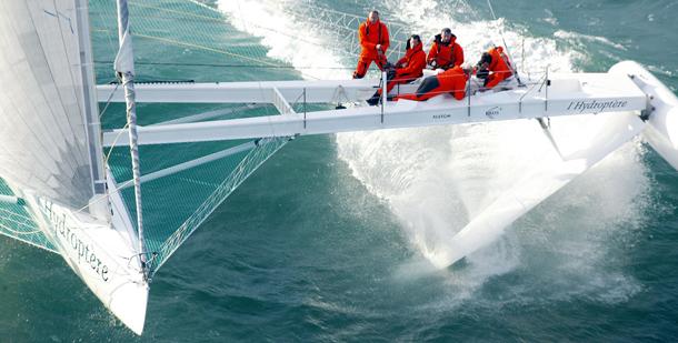 Documentaire: Hydroptère DCNS klaar voor recordpoging