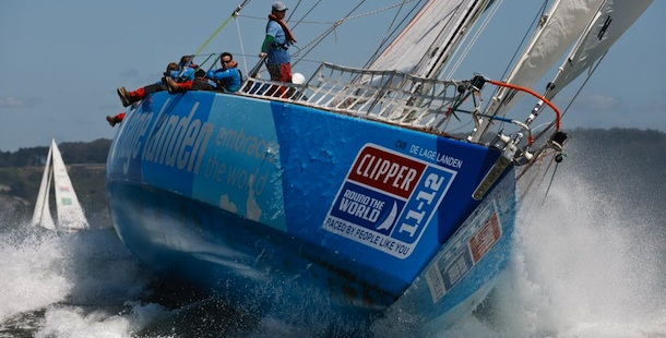 Clipper Round the World nadert Den Helder