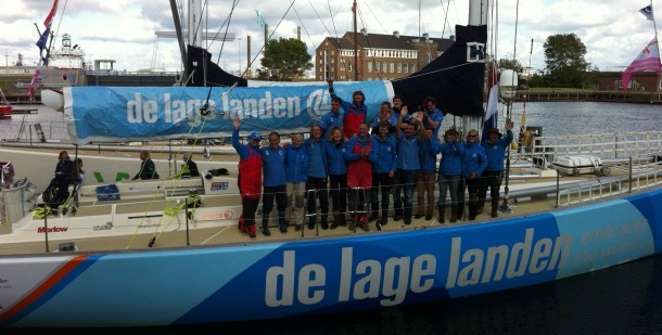 Clipperrace komt aan in Den Helder