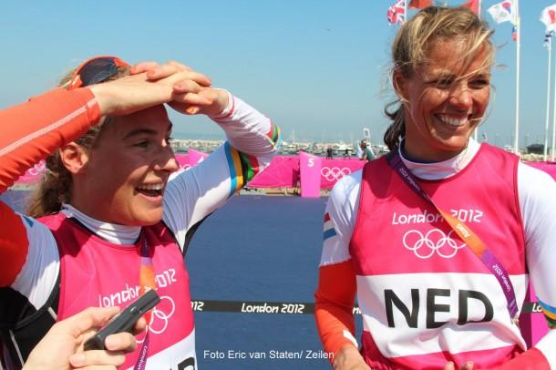 Foto's: Bronzen medaille voor Westerhof en Berkhout