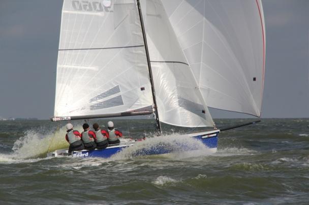 EK SB20 op IJsselmeer