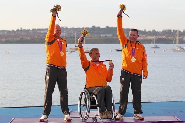 Goud en brons voor Nederlandse Paralympische zeilers