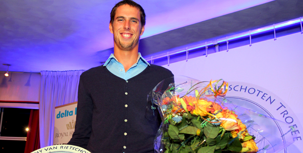 Windsurfer Dorian wint Conny van Rietschoten Trofee 2012