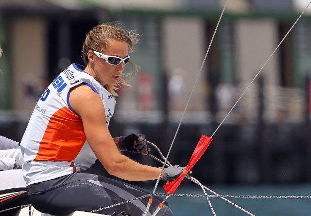 Marcelien de Koning in race voor vrouwenboot Volvo Ocean Race