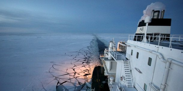 Nieuwe handelsroute via Noordelijke IJszee