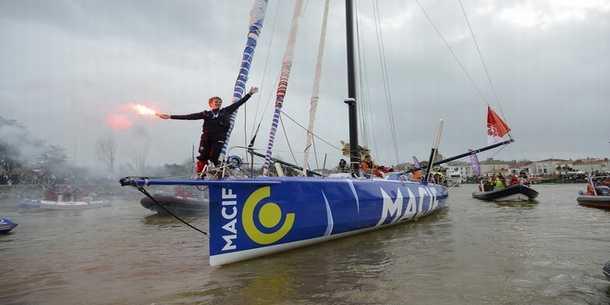 Gabart wint Vendée Globe in recordtijd