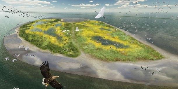 Nieuw Waddengebied in Markermeer