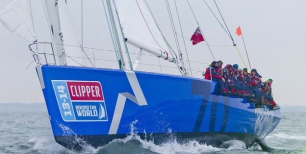 Nederlandse boot in Clipper Yacht Round the World Race