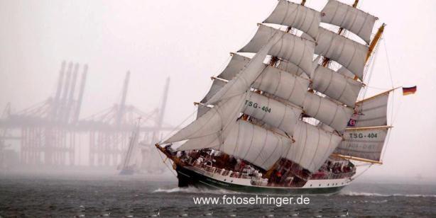 Alexander von Humboldt II bezoekt Harlingen