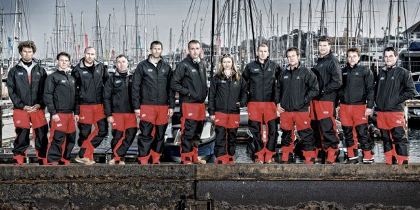 Nederlandse schipper in Clipper Round the World Race