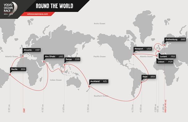 Lorient maakt VOR route compleet