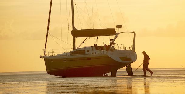 Flottielje naar de Oostelijke Waddenzee