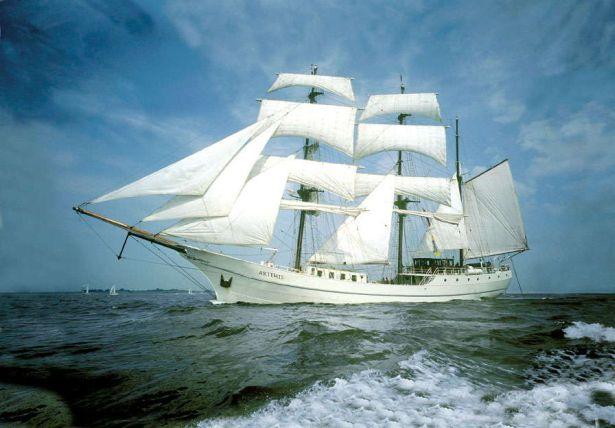 Artemis eerste schip voor Tall Ship Races