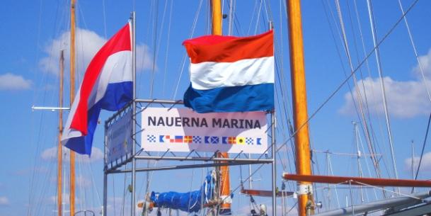 Koninginnedag-actie jachthaven Nauerna