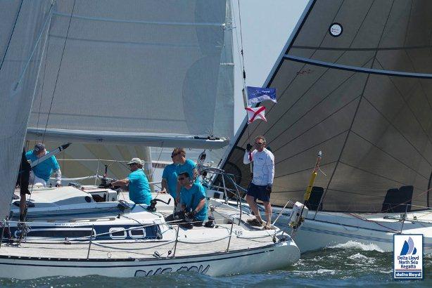 North Sea Kitchen nieuw tijdens zeil regatta