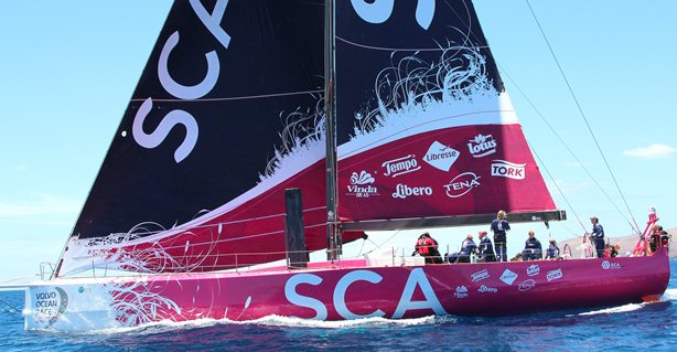 Girlpower op vrouwenboot Team SCA (video)