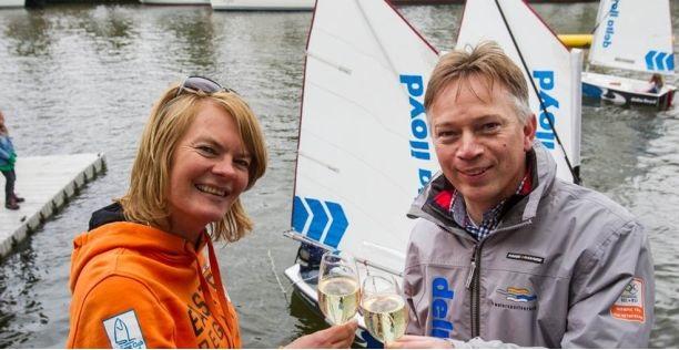 Delta Lloyd sponsort de Optimist-zeiler