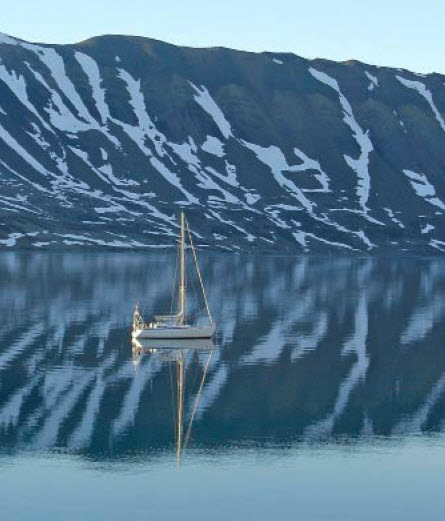 Afzien op de Barentszzee