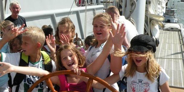 Maritime Experience op zeilschip Eendracht