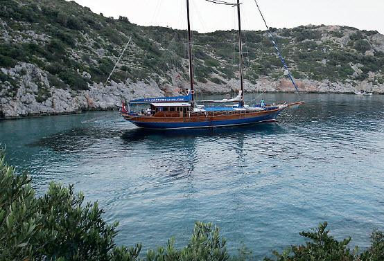 Laveren tussen Turkije en Griekenland