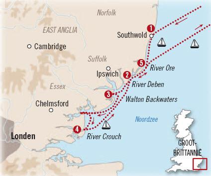 De Engelse oostkust voor fijnproevers