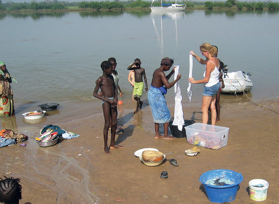 Expeditie Gambia Rivier