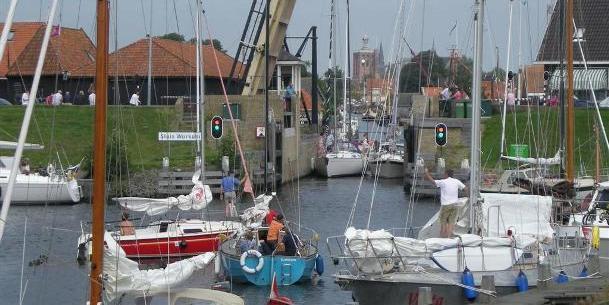 Sluis Workum toegankelijk voor grotere schepen