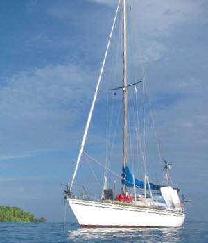 Bounty-eiland in de Stille Oceaan