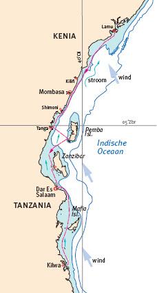 Sally verkent Swahili-kust