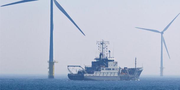 Veranderingen op de Noordzee