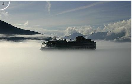 Wolken op zeeniveau