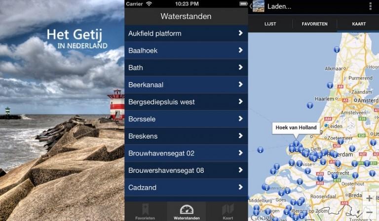 Nieuwe app Het Getij voor zeilers