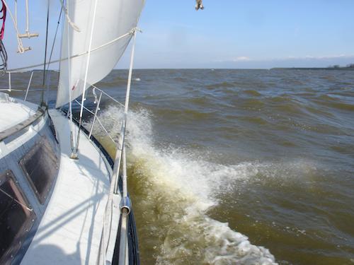 Voorjaarstocht op het IJsselmeer – Controleren en oefenen