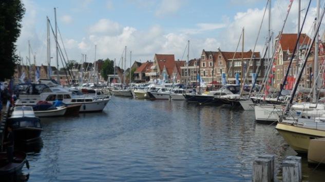 Laatste voorbereidingen gebruikte botenbeurs Hoorn