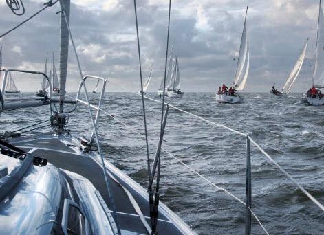 Non stop zeilen, de Ronde om Noord-Holland