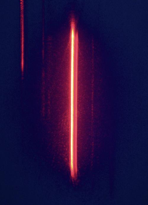 Laser als noodbaken
